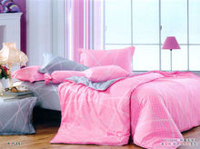 100% cotton pink colour new style bedding set cheaper price