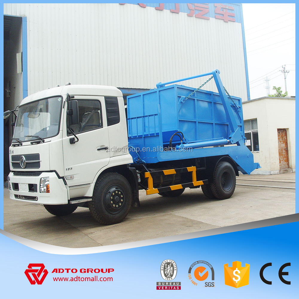 Top garde new china bin lifter garbage truck