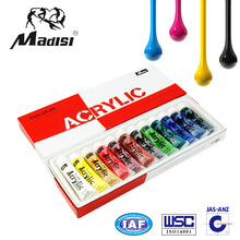 2016 HOT SALE Pure acrylic resin water proof acrylic paint