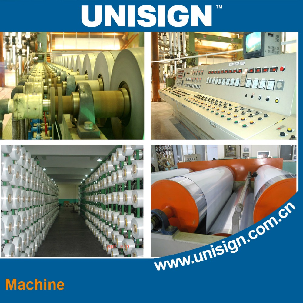 Unisign Self Adhesive Monomeric Vinyl Film digital printing stickers