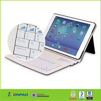 13.3inch tablet pc leather keyboard case for ipad for ,for ipad leather case
