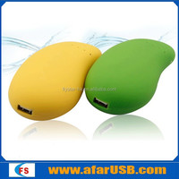 Mango shape power bank, mango power bank5200, mango mobile power 4800mah