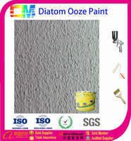 Water based mould proof diatom ooze wall paint
