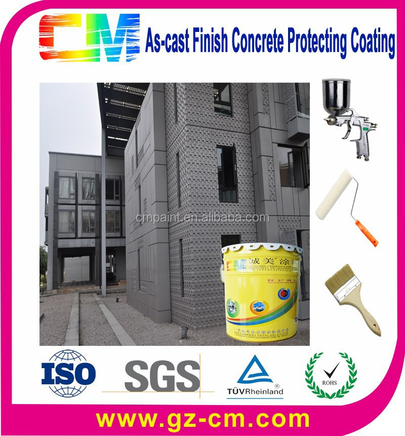 Concrete texture roller nano external wall as-cast finish paint
