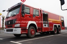 SINOTRUK HOWO 6x4 6x6 Right Hand Drive Military Airport Fire Truck Rescue Vehicle