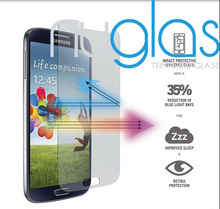 Anti shock privacy Tempered glass screen protector for Samsung Galaxy S4 Anti spy folie/anti peeping glass film for samsung s4