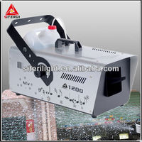 Special effect equipment 1200w professional stage/disco/dj snow machine