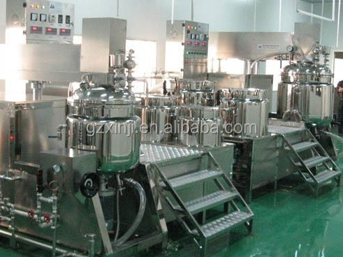 XJ-W-200 lab food cosmetic mayonnaise stainless steel Vacuum Homogenizing emulsifier mixer emulsifying machine