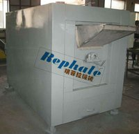 high capacity shell fruit and dry fruit roast machine
