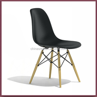 DSW DAR DNW plastic chairs with metal legs