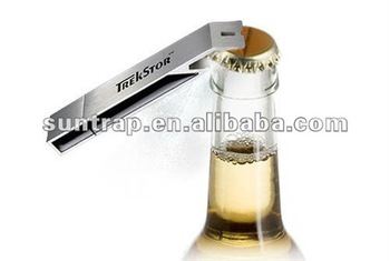 Hot selling bottle opener USB flash drive