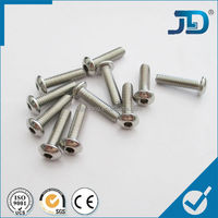 Titanium Round Type Hexagon Socket Head Cap Screws