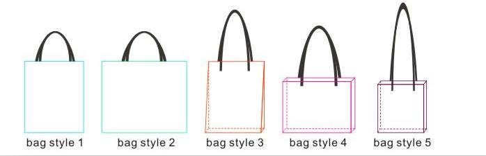 Alibaba China Supplier Women Fashion Cotton Tote Bag Ladies Handbag