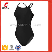 custom your brand name women's competition swimsuit