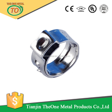 wall mount pipe clamp and gi pipe clamp , stainless steel single ear clip