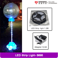 B695 Coloful Balloon Stand LED Strip Light