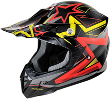 New design DOT approved cascos dual sport dirt bike motocross helmet