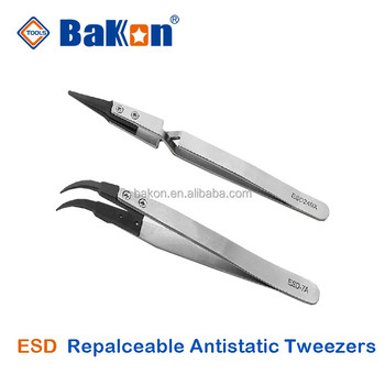 ST series antistatic tweezer ESD tools industry tools tweezers