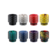 Newest style honeycombed shape vaporizer mouthpiece ecig 510 drip tips with epoxy resin material