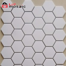Popular style hexagon porcelain mosaic tile for bathroom and kitchen