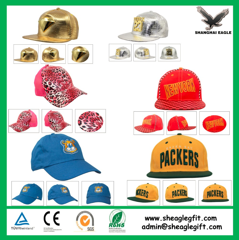Custom Printed Logo Promotional Cheap Baseball Cap