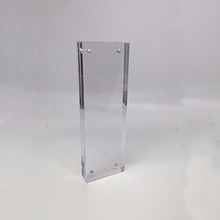 Free Standing Clear Acrylic Magnetic Desk Photo Booth Picture Frames