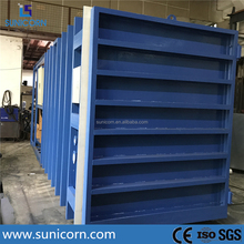 Customized 1 - 24 pallets agricultural products processing machines vacuum cooler