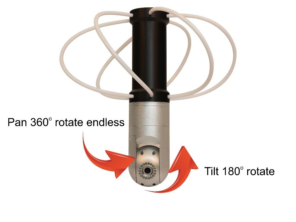 pan & tilt chimney camera -2