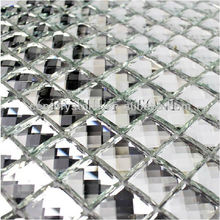 12x12 Mosaic Tile Square Decorative Small Mirror Tile