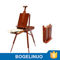in stock 160cm portable three-legged artist oil painting easel box beech wooden easel