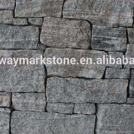 Loose Grey Granite Stone cladding Thin Wall Stone veneers for exterior and interior wall decoration WSV56