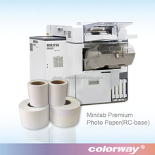 Amazing print quality compact inkjet minilab photo paper for fuji Frontier DL 650 Inkjet minilab printers