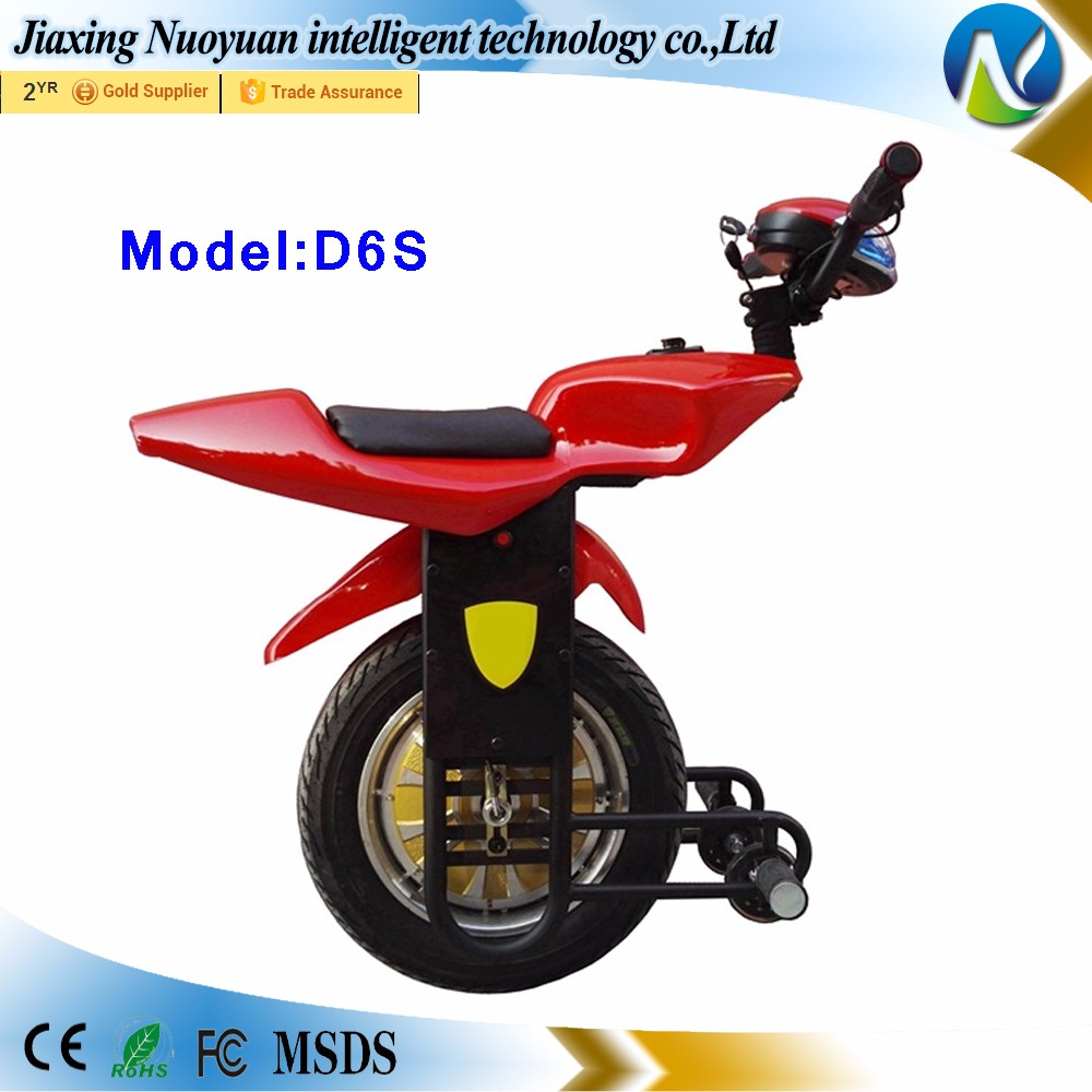 Alibaba Wholesale 15 Inch Big One Wheel Electric Scooter Mini Motorcycle