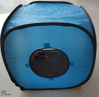 new fabric pet cage tent with 2 sides of windows dog house dog cage pet house
