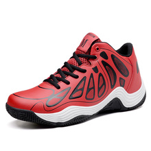 fashion casual PU red sport shoes and sneakers for men