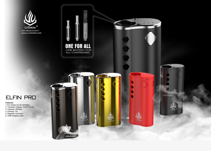 2018 products box mod one battery for all size cartridge cbd vape box variable voltage