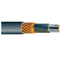 Medium Voltage Power Cable with Optical Fiber