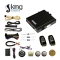 PKE smart key system with engine push button start