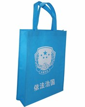 Promotional custom printed eco friendly reusable shopping non woven bag