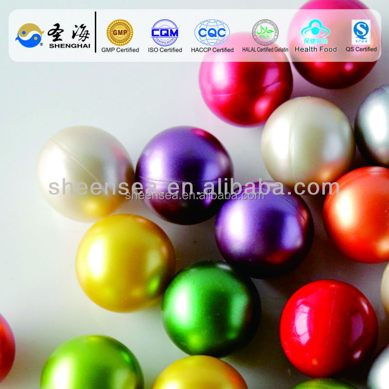 """colorful and made of gelatin "" 2000PCS/Carton 0.68 inch/caliber oil paintball balls factory"