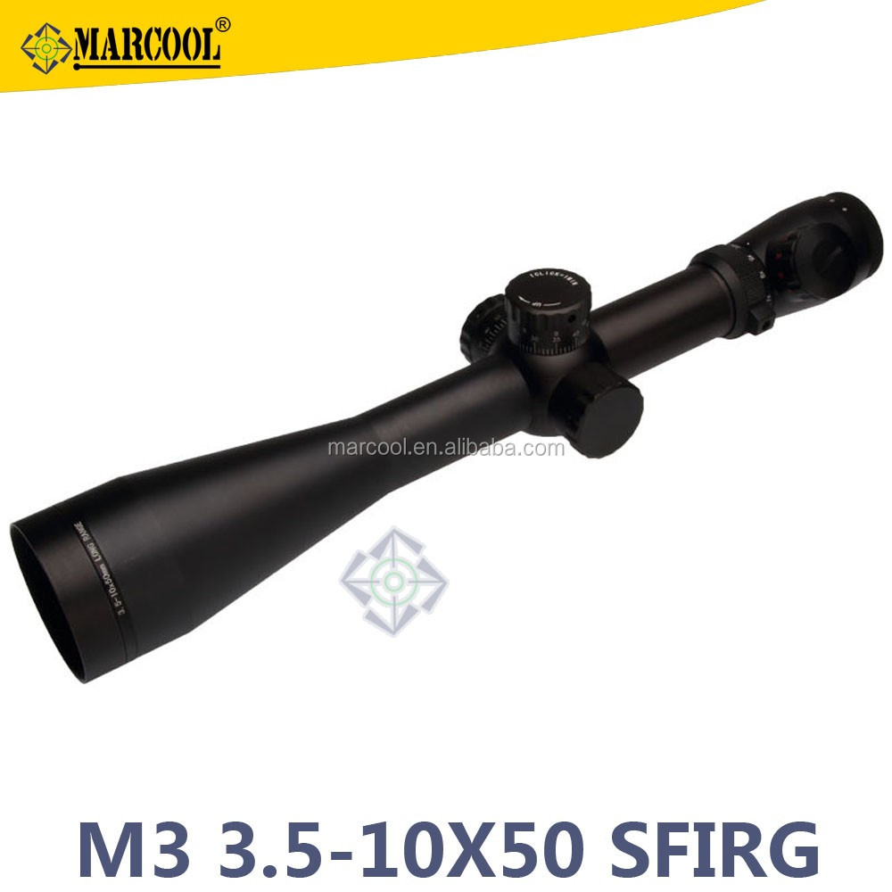 Riflescope M3 3.5-10X50 riflescope SFRG Hunting Equipment Rifle Scope For Outdoor Sports hunting