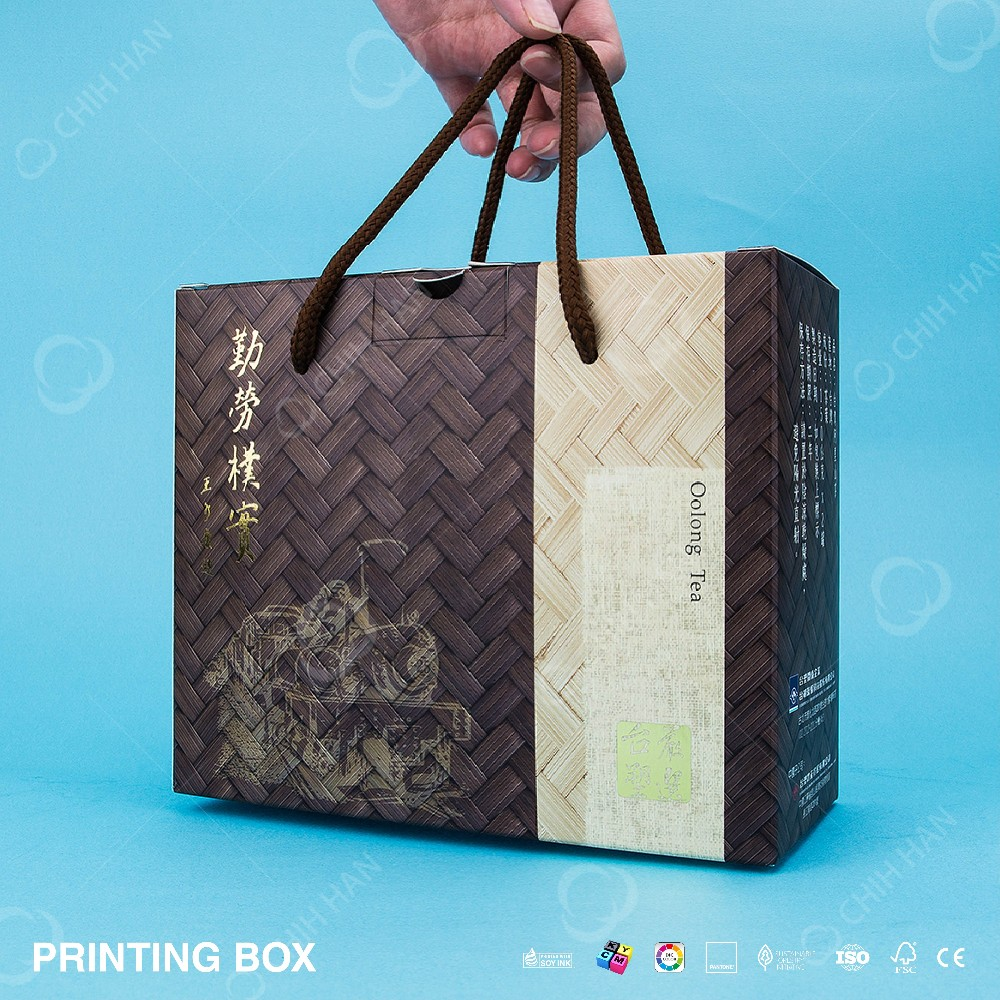Premium Printed Customized Cotton String Paper Box
