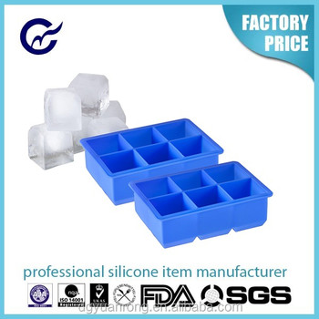 6cubes nice cool ice tray hot ice tray FDA ice cube tray