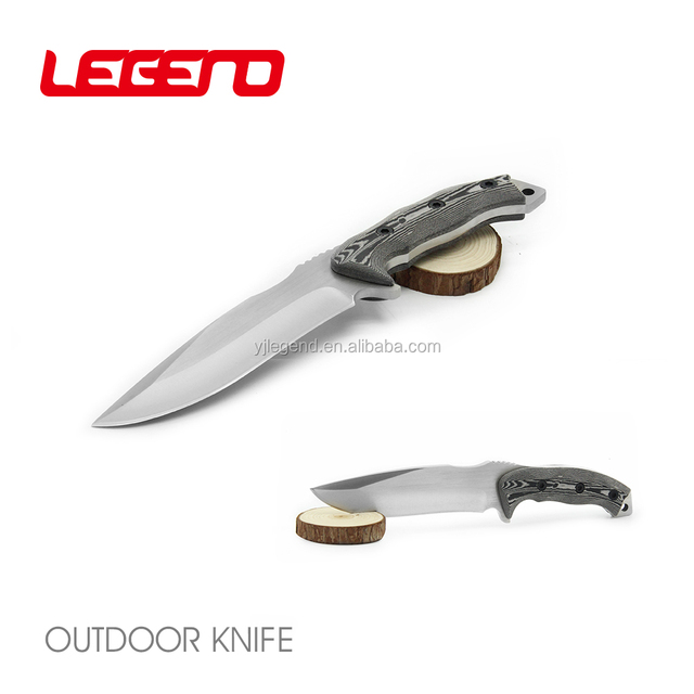 HK131 Premium handmade micarta handle fixed blade rambo hunting bowie knife combat tactical knife