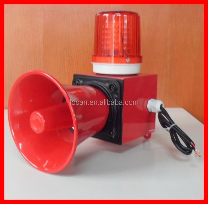 industrial horn siren and strobe light 24V,36V,48V,110V,220V