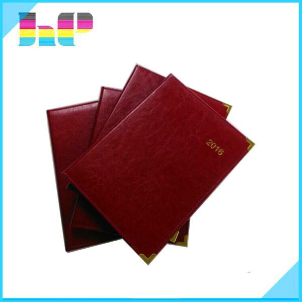 a5 leather cover wood free notebook printing
