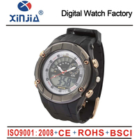 Fashion XINJIA Brand Children Watches LED Digital Quartz Watch Boy And Girl Student Multifunctional Waterproof Wristwatches