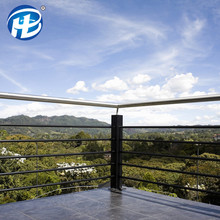 Outside Metal Banister Premade Hand Railings Outdoor Home Stainless Steel Railings