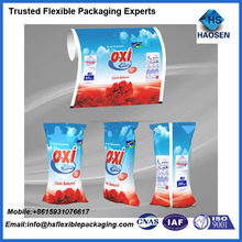 laundry detergent packaging /washing powder packaging bag/detergent powder packing designs