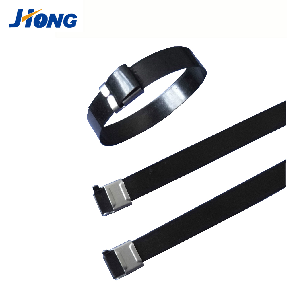 8 Inch Fir Tree Push Mount UV Black Nylon Cable Tie